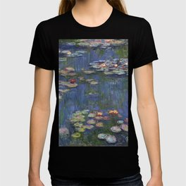 Water Lilies - Claude Monet T-shirt