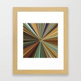 Fall Color Ball Framed Art Print