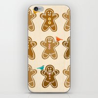 ginger iPhone & iPod Skins featuring Ginger by Kakel