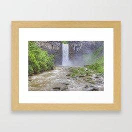 Taughannock Falls, Ithaca, NY Framed Art Print