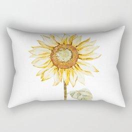 Sunflower 01 Rectangular Pillow