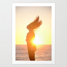 Subdued Sunlight. Art Print
