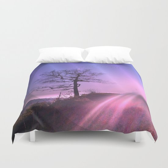 Soul light Duvet Cover