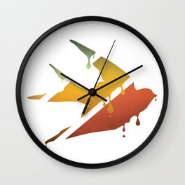 HAVE A NICE FLIGHT Wall Clock