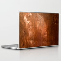 copper Laptop & iPad Skins featuring copper by gaus
