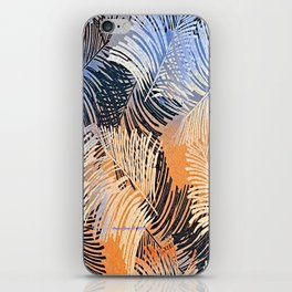 Palm Leaves By Annie Zeno iPhone Skin