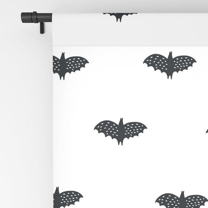 black and white Scandinavian Nursery Prints patterns Blackout Curtain