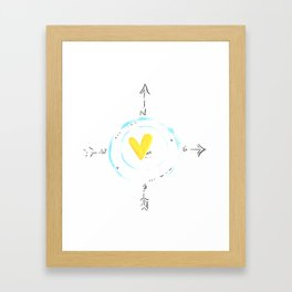 Self Finder Framed Art Print