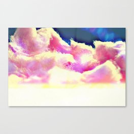 COTTON CANDY CLOUDS Canvas Print