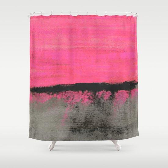 Sunset Horizon Shower Curtain