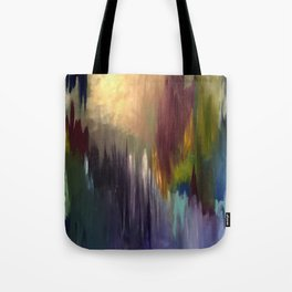 The Messenger Abstract Tote Bag