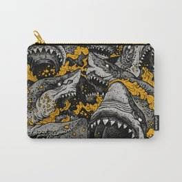 Sharks (Color version) Carry-All Pouch