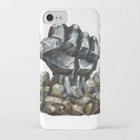 minerals iPhone & iPod Cases featuring Minerals and rocks by YISHAII