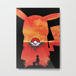 Adventure Awaits - Pokémon Metal Print