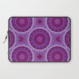 Circles in Purple Laptop Sleeve