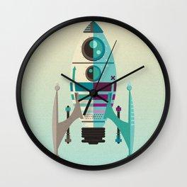 Rocket X Wall Clock