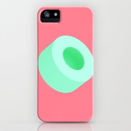Green Tube iPhone Case