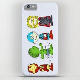 Little Superheroes iPhone Case