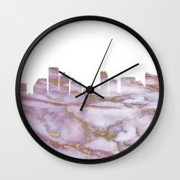 Atlantic City Skyline Wall Clock