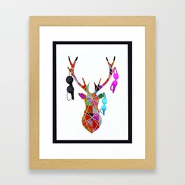 THE RACK Framed Art Print