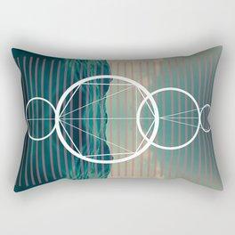 Dark but that light Rectangular Pillow