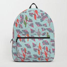 Humming Birds - Aqua Backpack