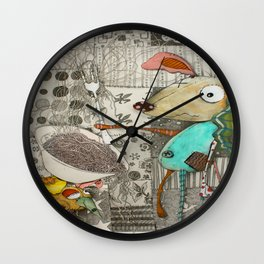 The Robbers Dog Wall Clock