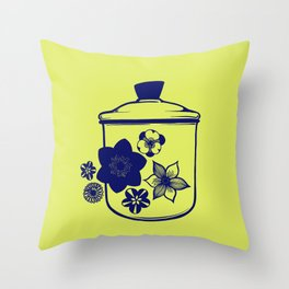 Mod Canister Throw Pillow