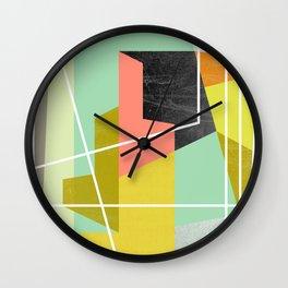 ColorBlock II Wall Clock