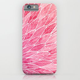 Pink Angel Wings iPhone Case