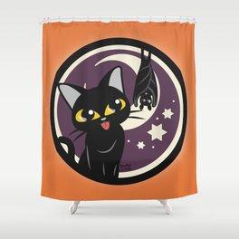 Purple night Shower Curtain