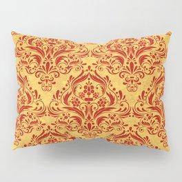 Halloween damask colors #1 Pillow Sham