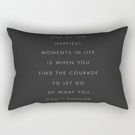 One Of The Happiest Moments In Life Rectangular Pillow