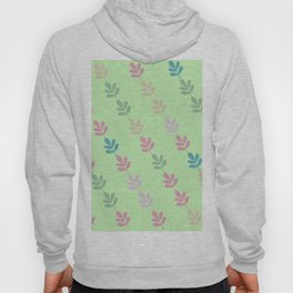 Flowers on Vine - Green Branches Hoody