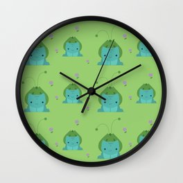 Garden Child Wall Clock