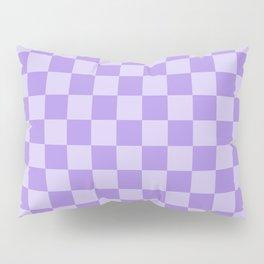 Lavender Check Pillow Sham