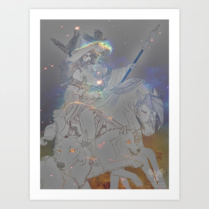 Odin the All-Father Art Print