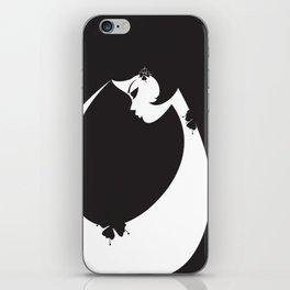 Girl in Black iPhone Skin