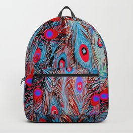 Pop Up Peacock Backpack