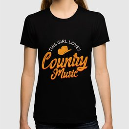 This Girl Loves Country Music product | Musician Lover T-shirt