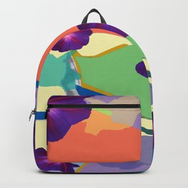 Morning Glory Collage Backpack