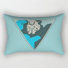 Gundam (by felixx.2 0 1 6) Rectangular Pillow