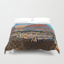 Tent of Meeting Duvet Cover