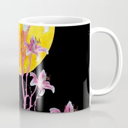 PINK ASIATIC STAR LILIES MOON FANTASY Coffee Mug