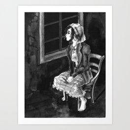 Tzeitel and the Woods, No. 1a Art Print