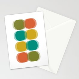 Mid Century Abstract Stationery Cards