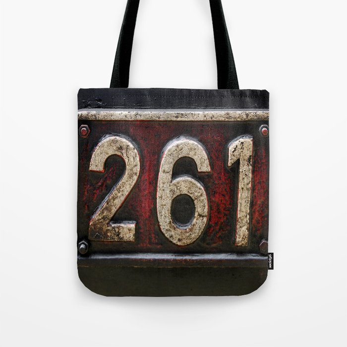 261 number Tote Bag
