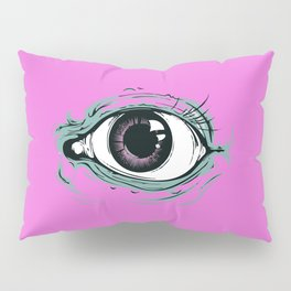 """""""I See You"""" Pink Pattern Pillow Sham"""
