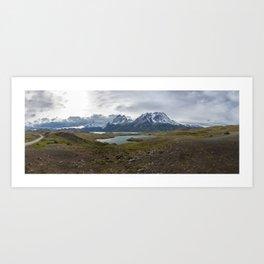 Torres del Paine Panoramic Art Print