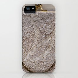 Vintage Hong Kong Beaded Purse iPhone Case